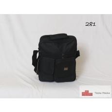 281 Ormi férfi táska fekete