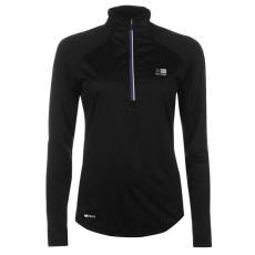 Karrimor női futó póló - Karrimor X Mistral Running Top - fekete