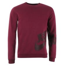 Nike Fleece Graphic férfi kerek nyakú pulóver piros XL