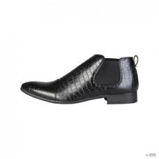 Duca di Morrone férfi boka csizma cipő JONES_fekete