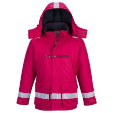 Portwest FR59 FR Antisztatikus, lángálló téli kabát (piros)