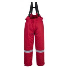 Portwest FR58 Antisztatikus téli mellesnadrág (piros)