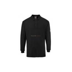 Portwest FR10 Lángálló, antisztatikus hosszú ujjú pólóing (szürke)