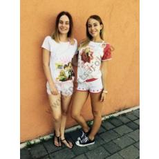 Lány/női nyári pizsama 3067