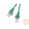 Lanberg Patchcord RJ45 cat. 5e UTP 0.25m green