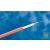 AMP Korlátozottan rágcsálóvédett, lazacsöves (zselés) kábel, 8 szál OM1 62.5/125 (2-599624-5)