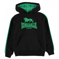 Lonsdale 2 Stripe OTH kapucnis pulóver gyerek fiú