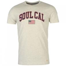 SoulCal Deluxe USA Flag póló