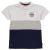 Donnay Colour and Stripe galléros póló fiú