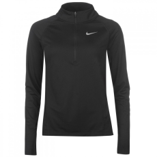 Nike félig cipzáras hosszú ujjú futófelső női