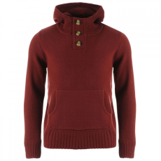SoulCal Button Knit kapucnis pulóver férfi