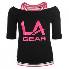 LA Gear dupla rétegű póló női