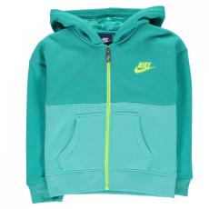 Nike Club teljes cipzáras kapucnis pulóver gyerek lány