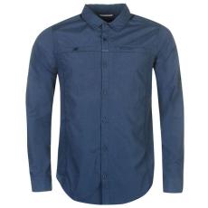 Craghoppers Kiwi férfi hosszú ujjú ing kék XL