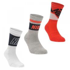 Nike Fly 3 Pack Crew Socks gyerek fiú