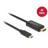 DELOCK kábel USB Type-C male to HDMI male (DP Alt