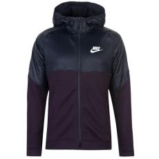 Nike AV15 Season férfi kapucnis cipzáras pulóver bordó S