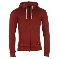 Jilted Generation férfi kapucnis pulóver - Jilted Generation Hoody Mens Burgundy