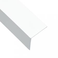5 db L-alakú fehér 90°-os alumínium profil 170 cm 30 x 30 mm építőanyag