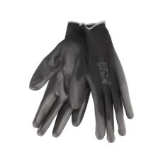 Extol PREMIUM Kötött kesztyű fekete poliészter, méret: 9, 8856636
