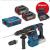 Bosch GBH 18V-26 F + akkus fúrókalapács szerszámkészlet 0615990J7K