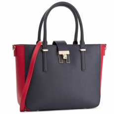 Tommy Hilfiger Táska TOMMY HILFIGER - Th Heritage Tote AW0AW04364 901