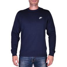 Nike M Nsw Crw Flc Club férfi pulóver kék XL