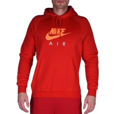 Nike M Nsw Hoodie Po Flc Air Hrtg férfi pulóver piros XXL