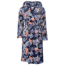 Rock and Rags női köntös - Rock and Rags Kitch Robe Dark Floral