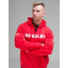 Dorko Hungary Férfi Cipzáros Pulóver férfi pulóver piros L