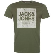 Jack and Jones Originals Jorstride férfi póló olajzöld S