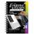 Képkarcoló könyv, 12 különböző képpel, karctűvel - 15x20 cm - Album formátum - Vadon