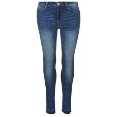 Lee Cooper női farmer - Lee Cooper Open Hem Jeans - Mid Wash