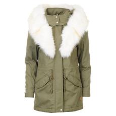 SoulCal női parka kabát - SoulCal Biker Parka - zöld