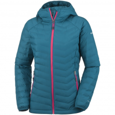 Columbia Powder Lite Hooded Jacket Utcai kabát,dzseki D (1699071-r_489-Phoenix Blue)