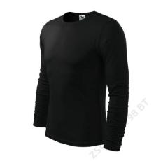 ADLER Fit-T Long Sleeve ADLER pólók férfi, fekete