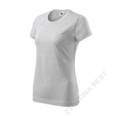 ADLER Basic ADLER pólók női, világosszürke melírozott
