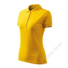 ADLER Pique Polo ADLER galléros póló női, sárga