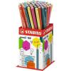 "STABILO Grafitceruza display, 2B, hatszögletû, STABILO ""Pencil 160"""