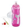 Nuk Gyermek bögre NUK Sports Cup nyuszi és cica 450 ml rózsaszín | Rózsaszín |