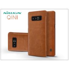 Nillkin Samsung N950F Galaxy Note 8 oldalra nyíló flipes tok - Nillkin Qin - barna tok és táska