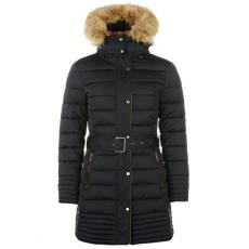 Firetrap női kabát - Firetrap Long Luxury Bubble Jacket Ladies Navy