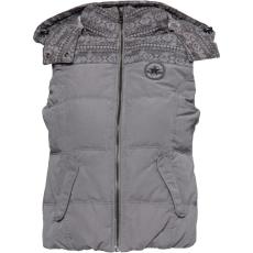 Converse női mellény - Converse Womens Yedda Military Down Vest Gilet Charcoal Grey