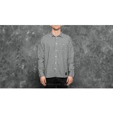Cheap Monday Give Check Shirt White/ Black