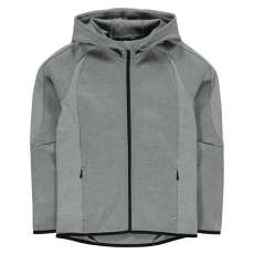 Puma gyerek cipzáras pulóver - Puma EvoStripe Full Zip Hoody Junior Grey