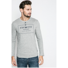 Tom Tailor Denim Hosszúujjú Henley