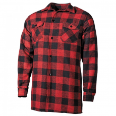 FOX OUTDOOR Lumberjack - Piros/Fekete - L