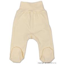 NEW BABY Csecsemő lábfejes nadrág New Baby bézs | Bézs | 56 (0-3 h)