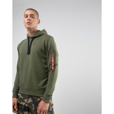 Alpha Industries X-Fit Hoody - olive