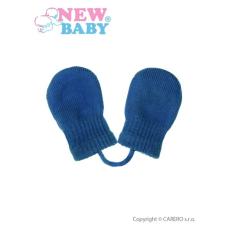 NEW BABY Gyermek téli kesztyű New Baby kék | Kék | 56 (0-3 h)